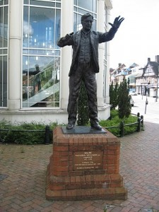 Statue of Vaughan WIlliams