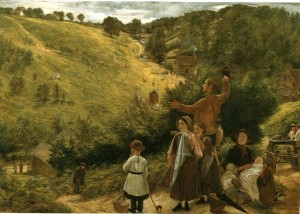 The Emigrants' Last Sight of Home by Richard Redgrave (1858)