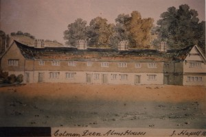 Cotmandene Almshouses by J. Hassell