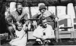 Leslie Howard and Family