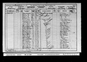 Alfred Batson 1901 Census © findmypast.co.uk