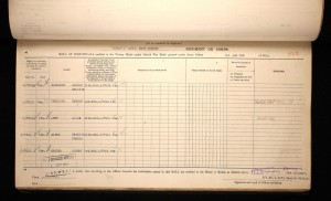 Allan Luff British War Medal and Victory Medal Roll © Ancestry.co.uk