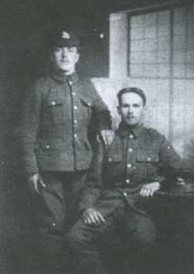 Jack Burberry (left) and Arthur Monk