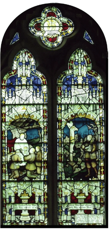 Captain Heath Window