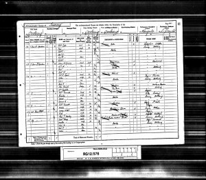 Charles Little 1891 Census © Ancestry.co.uk