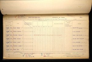 Charles Little British War Medal and Victory Medal Roll © Ancestry.co.uk