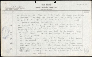 Charles Little War Diary 1 © Ancestry.co.uk