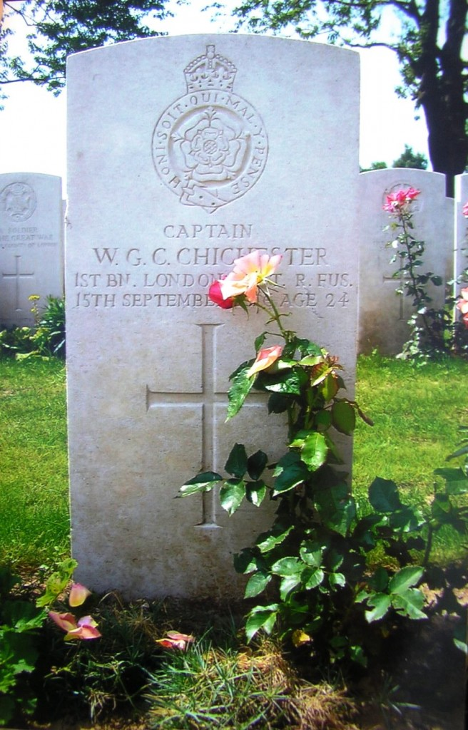 Captain W.G.C Chichester
