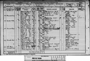 Clive Scotland Harding 1891 Census © findmypast.co.uk