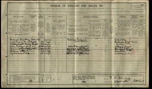 Clive Scotland Harding 1911 Census © findmypast.co.uk