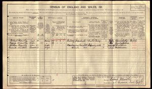 Frederick Richard Watson 1911 Census © ancestry.co.uk