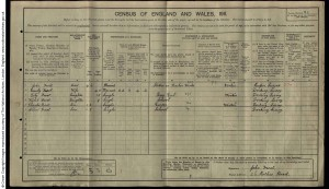 Frost 1911 Census © Ancestry.co.uk