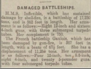 HMS Inflexible © Dundee Courier findmypast.co.uk