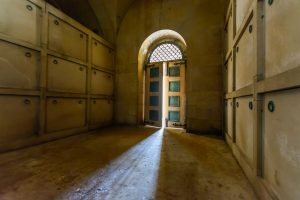 Inside the Mausoleum - Deepdene Trail © MVDC
