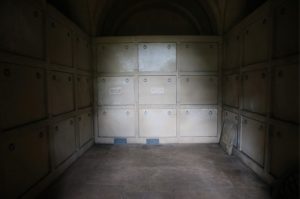 Inside the Hope Mausoleum 2015 © Mole Valley District Council