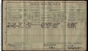 Mark Goff 1911 Census © ancestry.co.uk