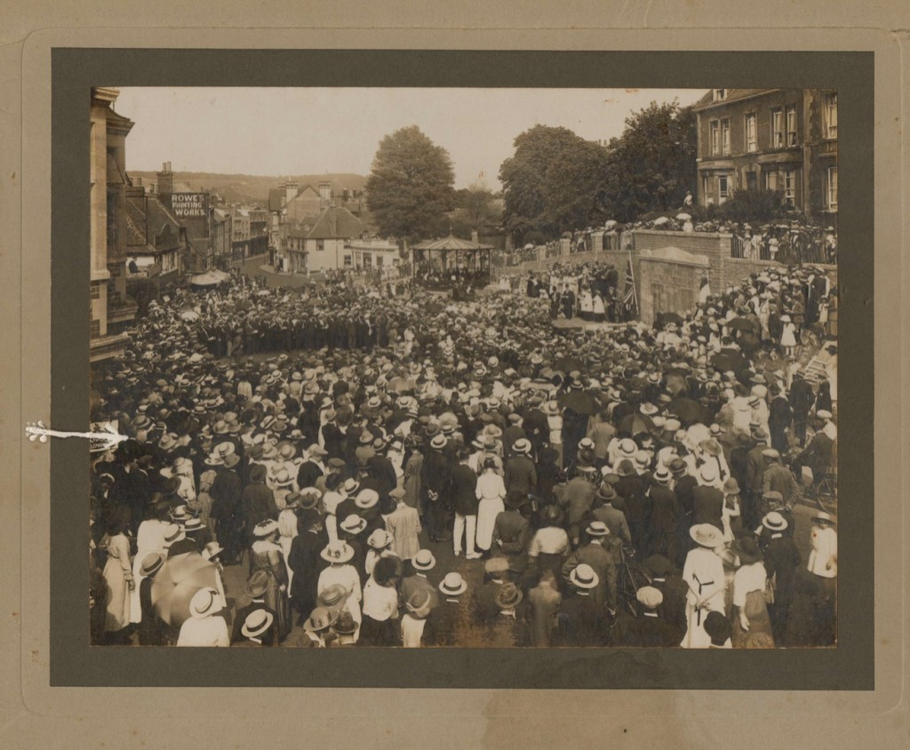 Opening of War Memorial 17 July 1919