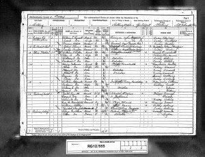 Percy Coleman 1891 Census © Ancestry.co.uk