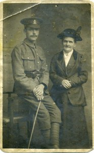Valentine Botting (brother of George) and Harriett Botting (his mother) © Peter Davidson