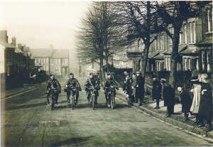 London Scottish Regiment on Wathen Road, Dorking - Photographer Samuel Yeo copy