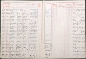 William Frederick Stanbridge 1908 St Martin's School Register © findmypast.co.uk