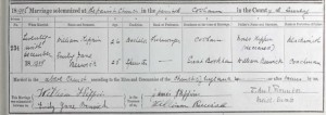 William Kippin Marriage Certificate © ancestry.co.uk