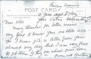 Postcard from Mrs Lockyer