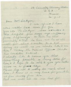Sister Aylett Update Letter