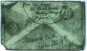 Back Returned Letter