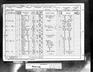 1891 Census © Ancestry.com