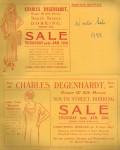 Charles Degenhardt Advert 1933