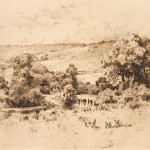 Charles Collins, Box Hill Bridge, Dorking