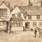 Charles Collins, The White Horse, High Street, Dorking