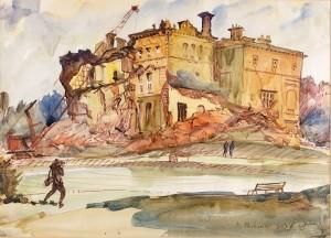 Dorothy Parsons, Destruction of Deepdene House