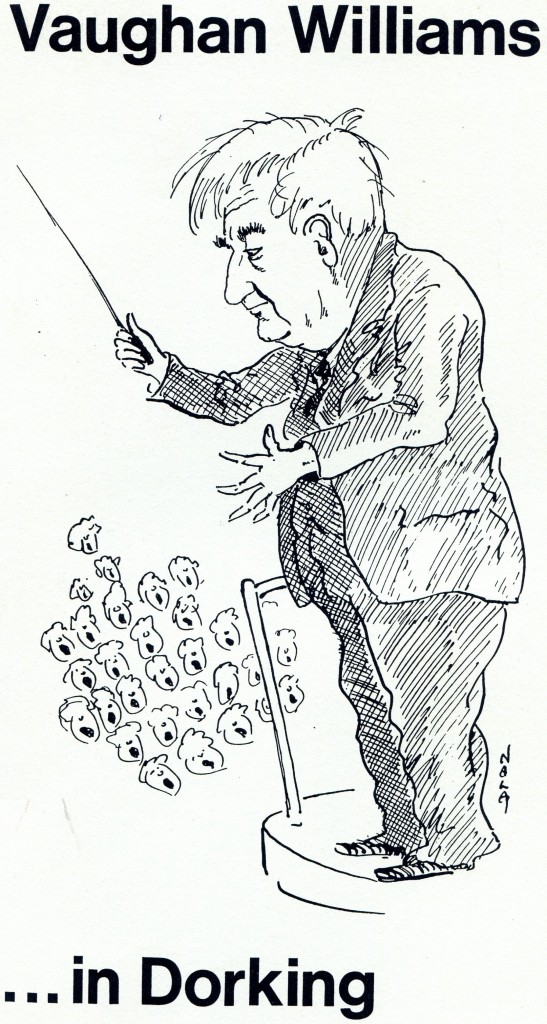 Vaughan Williams ... in Dorking