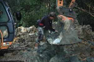 Junkers Excavation on Holmwood Common