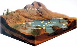 South Eastern England 130 million years ago
