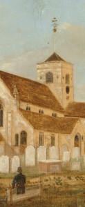 Medieval Church, Dorking - John Beckett