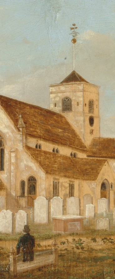 Medieval Church, Dorking - John Beckett