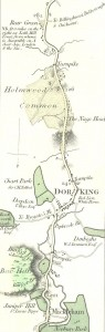 Moggs 1818 map