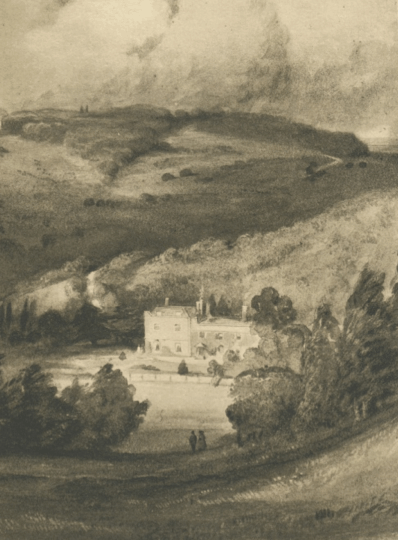 Juniper Hall by Dibden c. 1844