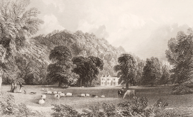 Burford Lodge by TA Prior. 1845
