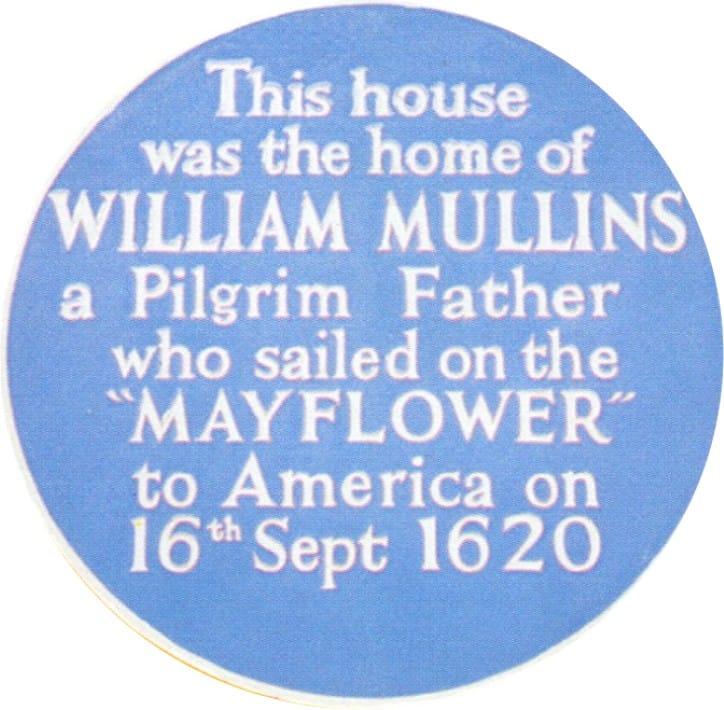 William Mullins Blue Plaque
