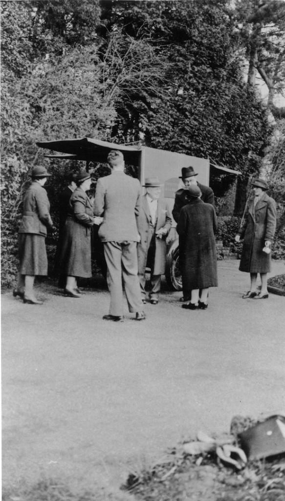 Evacuees in Dorking