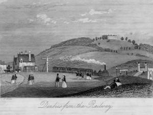 Denbies and the Railway