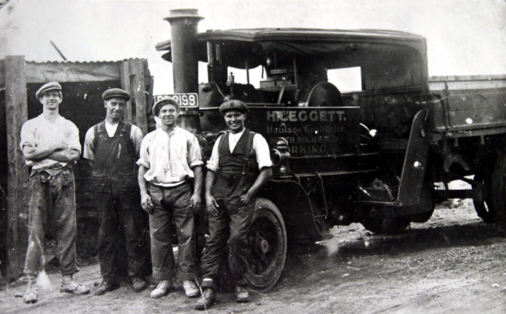 Leggetts Foden 5 ton wagon at the Brickworks