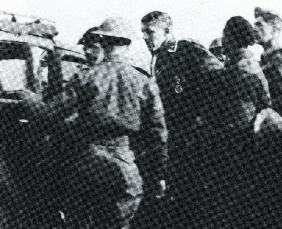German Airman at Holmwood