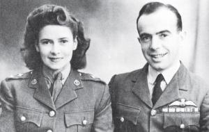 Nan Jones and JA Milne