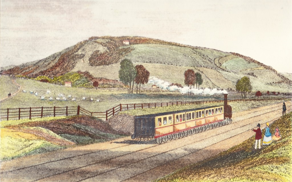 The Railway at Box Hill