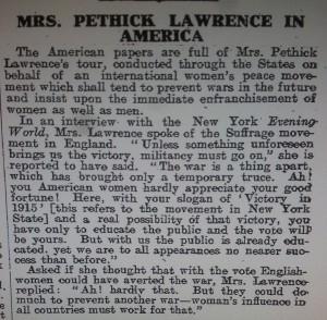 Emmeline Pethick Lawrence